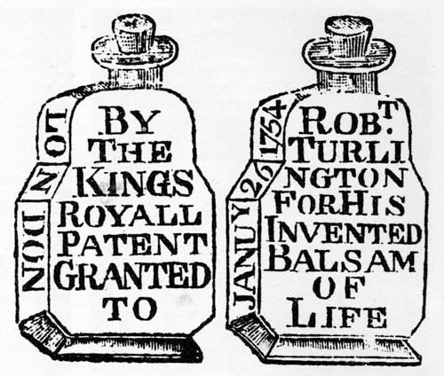 Balsam of Life bottles