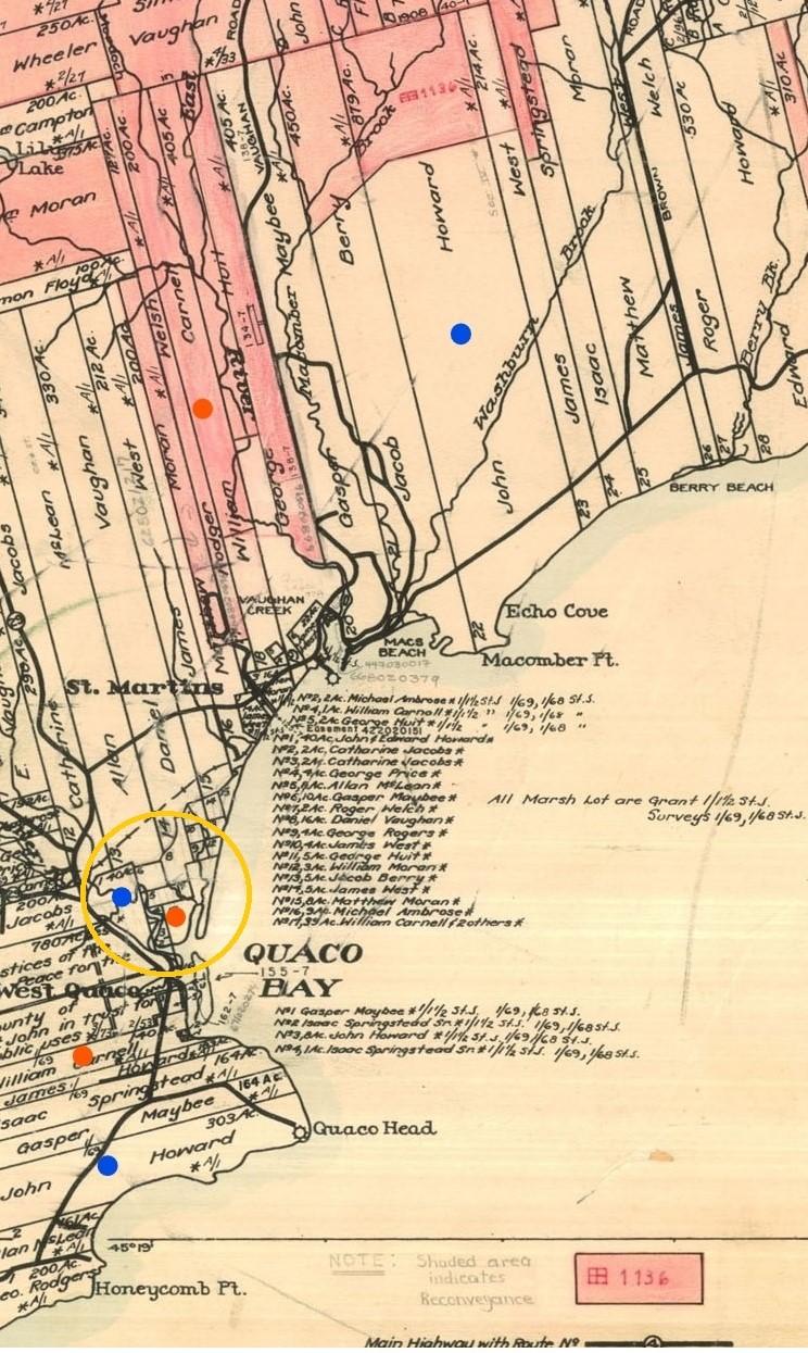 Grant map Quaco