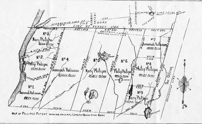 Map Philipse Patent