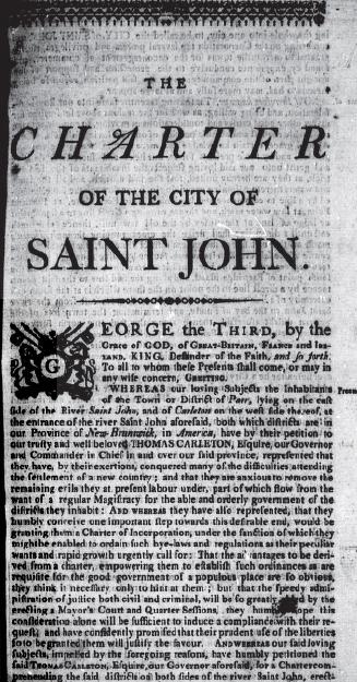 Saint John Charter
