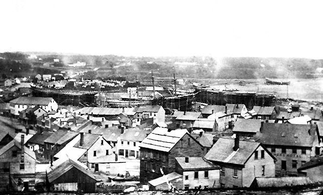 East Saint John 1860