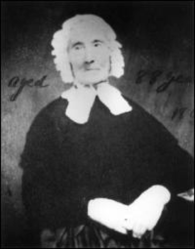 Hannah Ingraham daguerreotype