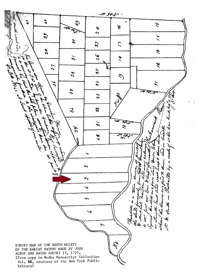 Map Kakiat Patent