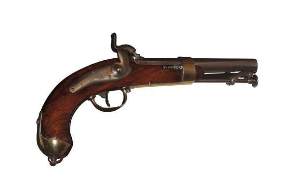 French naval pistol