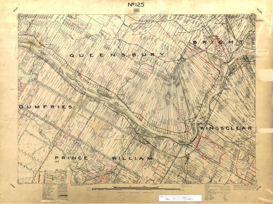 cadastral map York County