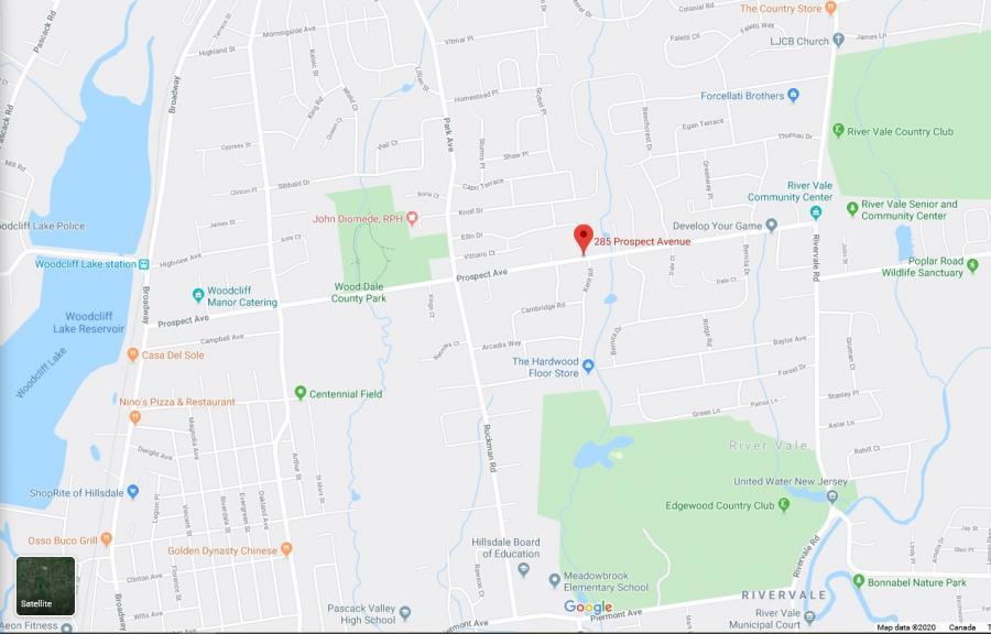 Google Map New Jersey