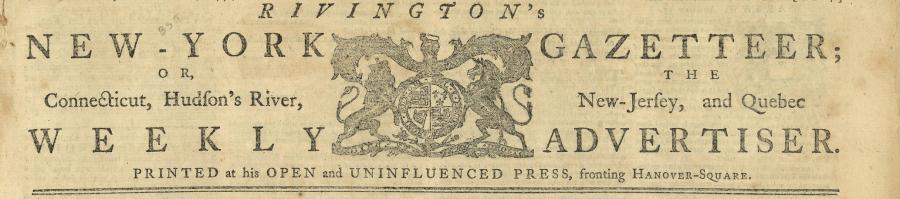 Rivington's Gazetteer