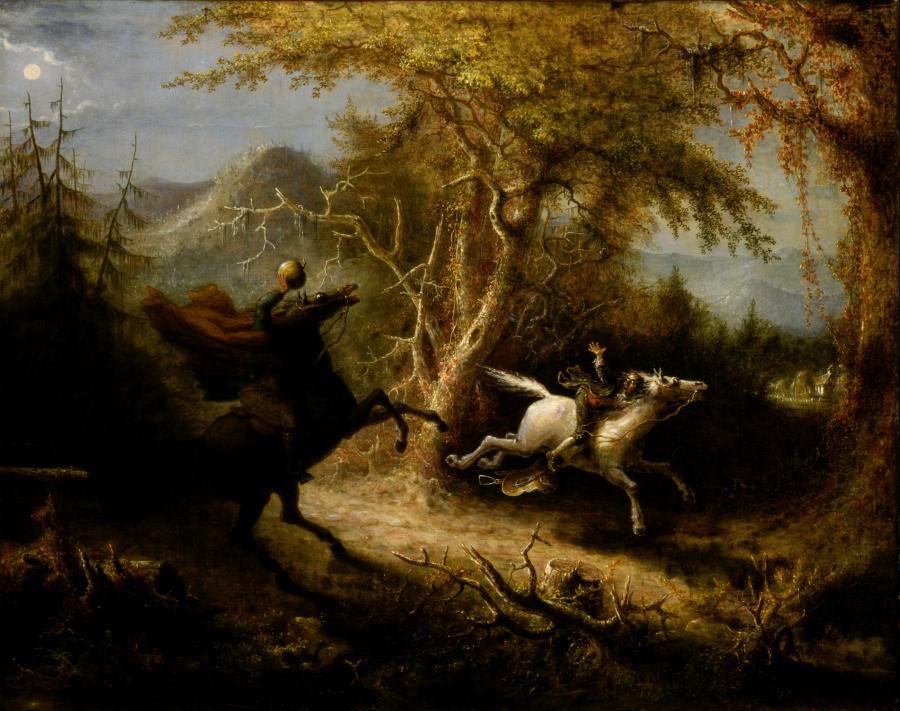 Quidor The Headless Horseman