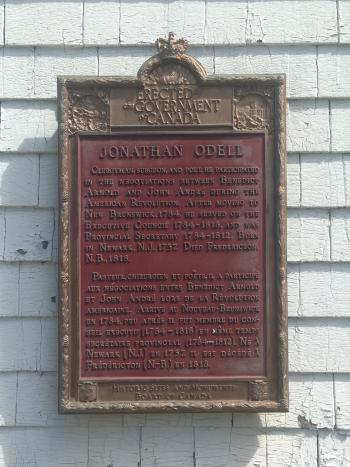 Odell plaque