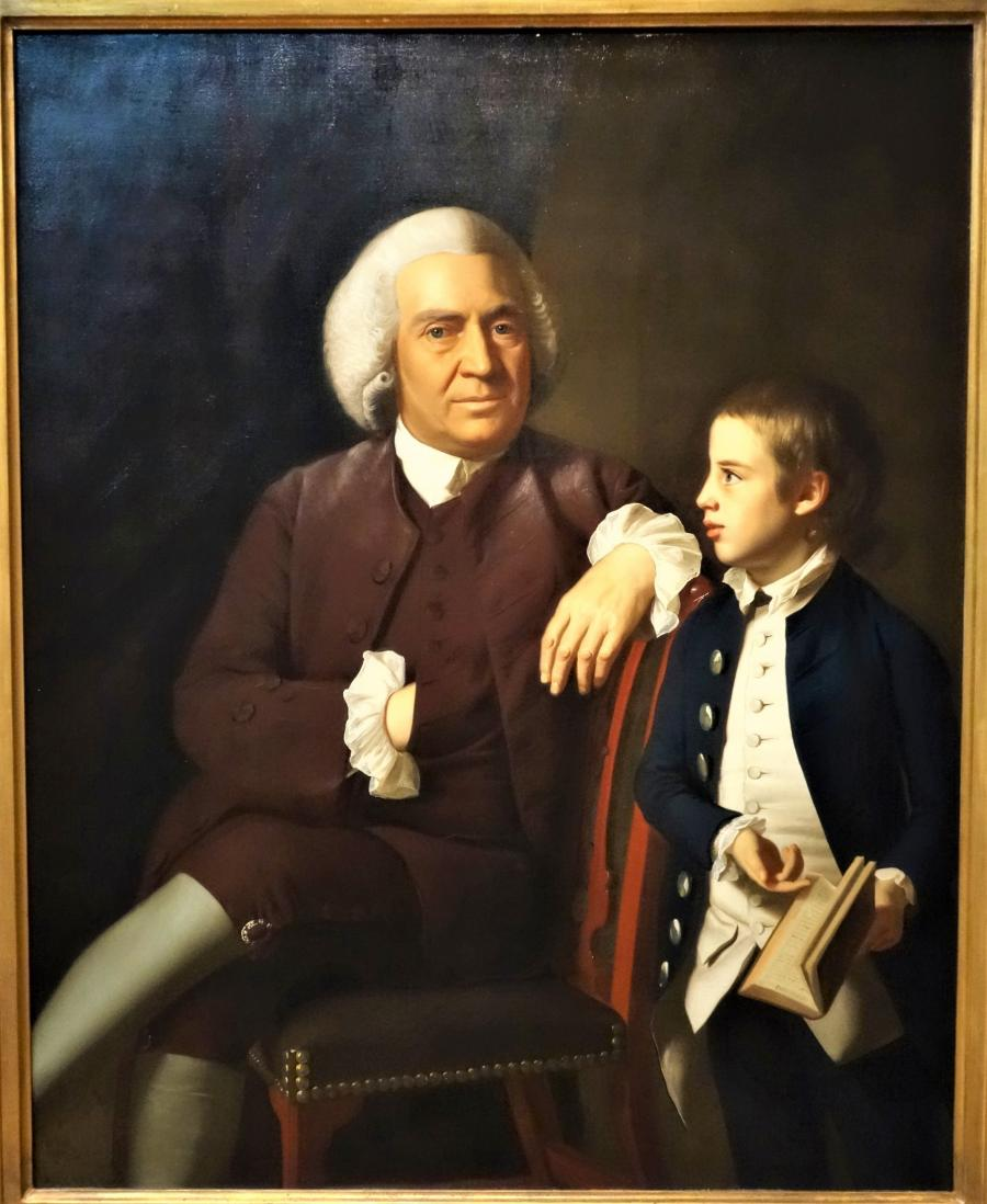 Vassall and son