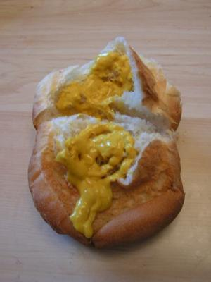 mustard roll