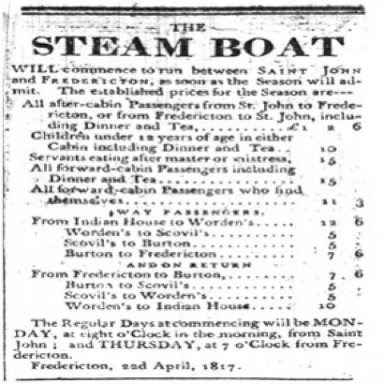 Steamboat ad